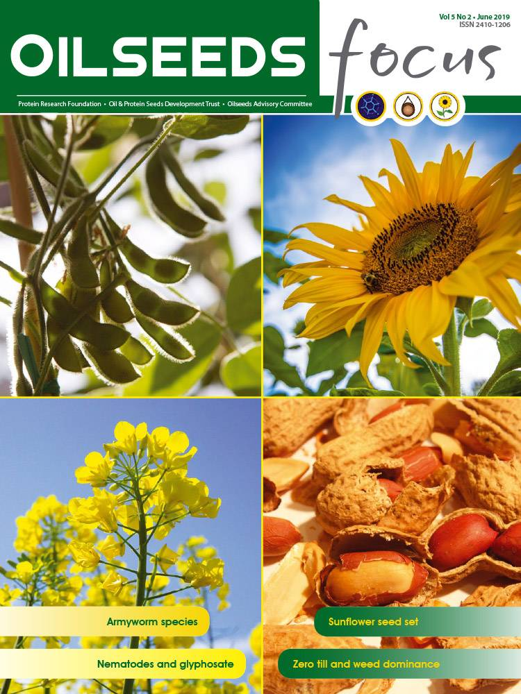 Cover of Oilseeds Focus Oilseeds Focus Vol 5 No 2 - June 2019