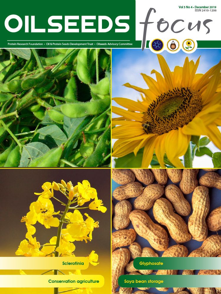 Cover of Oilseeds Focus Oilseeds Focus Vol 5 No 4 - December 2019